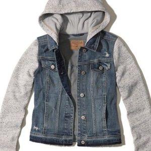 Hollister Hoodie Denim Jacket
